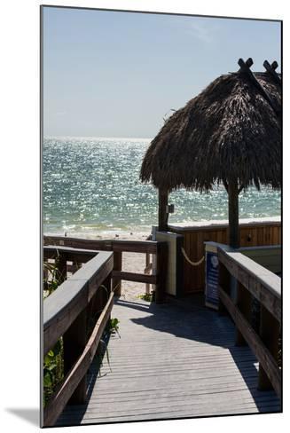 Boardwalk on the Beach - Florida-Philippe Hugonnard-Mounted Photographic Print
