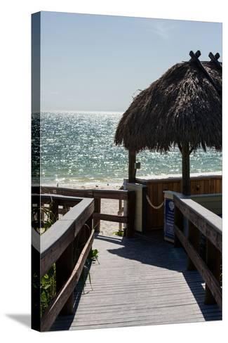 Boardwalk on the Beach - Florida-Philippe Hugonnard-Stretched Canvas Print