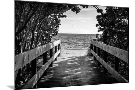 Boardwalk on the Beach-Philippe Hugonnard-Mounted Photographic Print