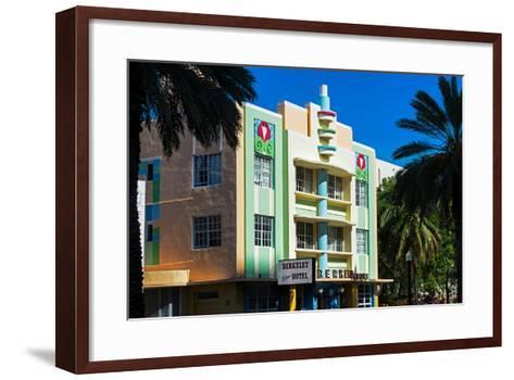 The Berkeley Shore Hotel in the Art-Deco District of Miami Beach - Florida-Philippe Hugonnard-Framed Art Print