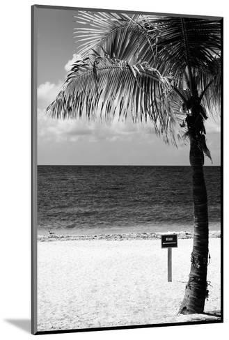 Miami Sign on the Beach - Florida-Philippe Hugonnard-Mounted Photographic Print