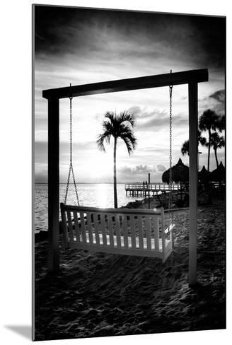 Swing Beach at Sunset-Philippe Hugonnard-Mounted Photographic Print