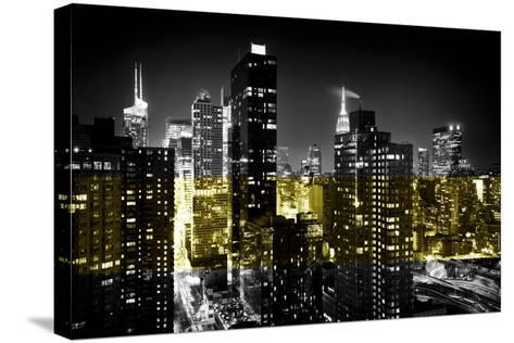 Manhattan Night-Philippe Hugonnard-Stretched Canvas Print