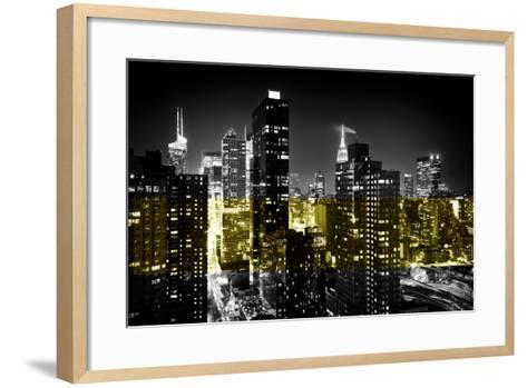 Manhattan Night-Philippe Hugonnard-Framed Art Print