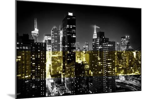 Manhattan Night-Philippe Hugonnard-Mounted Photographic Print