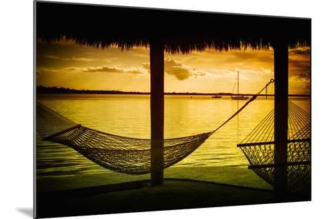 The Hammocks at Sunset - Florida-Philippe Hugonnard-Mounted Photographic Print