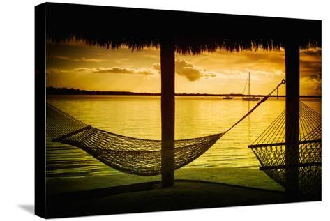 The Hammocks at Sunset - Florida-Philippe Hugonnard-Stretched Canvas Print