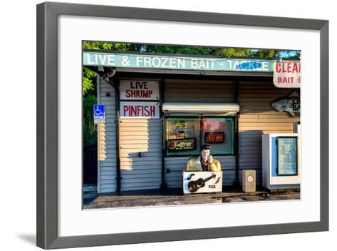 Old Traditional American Bar Restaurant-Philippe Hugonnard-Framed Art Print