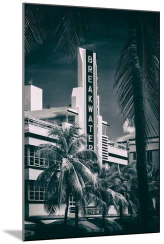 Art Deco Architecture of Miami Beach - The Esplendor Hotel Breakwater South Beach - Ocean Drive-Philippe Hugonnard-Mounted Photographic Print