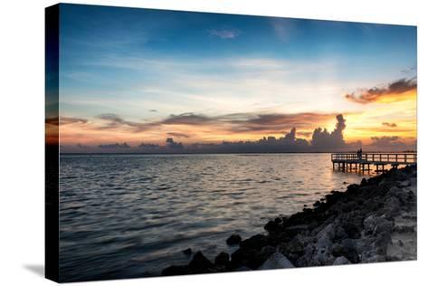 Sunset Sun Dream-Philippe Hugonnard-Stretched Canvas Print