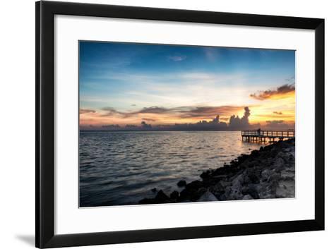 Sunset Sun Dream-Philippe Hugonnard-Framed Art Print