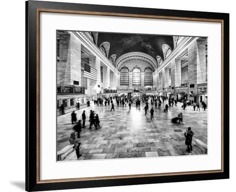 Grand Central Terminal at 42nd Street and Park Avenue in Midtown Manhattan in New York-Philippe Hugonnard-Framed Art Print