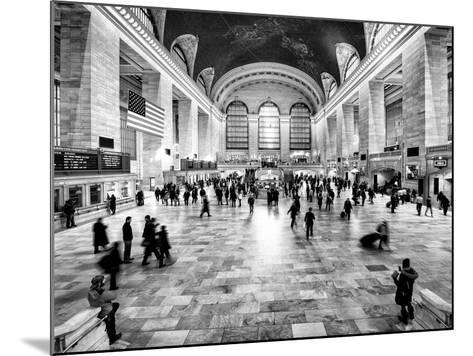 Grand Central Terminal at 42nd Street and Park Avenue in Midtown Manhattan in New York-Philippe Hugonnard-Mounted Photographic Print