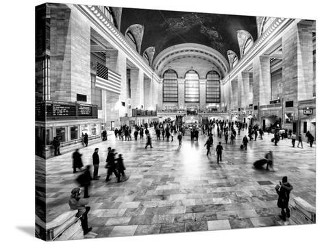 Grand Central Terminal at 42nd Street and Park Avenue in Midtown Manhattan in New York-Philippe Hugonnard-Stretched Canvas Print