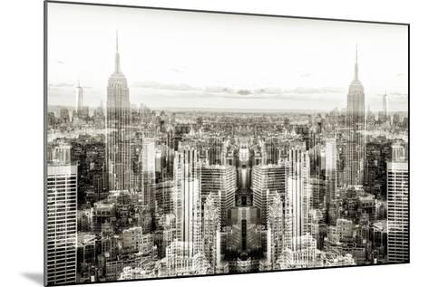New York City Reflections Series-Philippe Hugonnard-Mounted Photographic Print