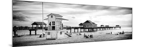 Life Guard Station - Florida Beach-Philippe Hugonnard-Mounted Photographic Print