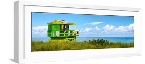 Life Guard Station - South Beach - Miami - Florida - United States-Philippe Hugonnard-Framed Art Print