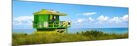 Life Guard Station - South Beach - Miami - Florida - United States-Philippe Hugonnard-Mounted Photographic Print