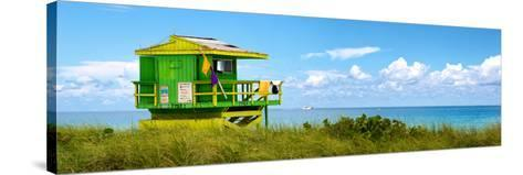 Life Guard Station - South Beach - Miami - Florida - United States-Philippe Hugonnard-Stretched Canvas Print