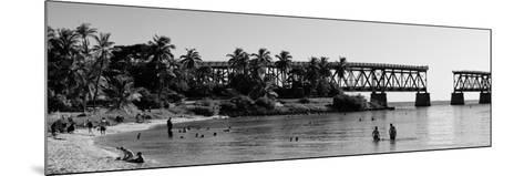 Old Bahia Honda Bridge Florida Keys - Bridges Roads-Philippe Hugonnard-Mounted Photographic Print