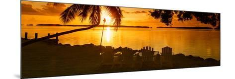 Four Chairs at Sunset - Florida-Philippe Hugonnard-Mounted Photographic Print