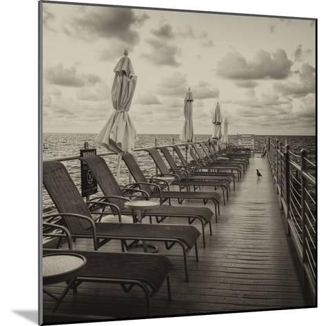 Pontoon with Deck Chairs - Key West - Florida-Philippe Hugonnard-Mounted Photographic Print