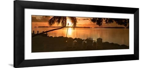 Four Chairs at Sunset - Florida-Philippe Hugonnard-Framed Art Print