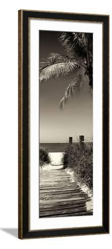 Boardwalk on the Beach - Florida-Philippe Hugonnard-Framed Art Print