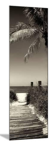 Boardwalk on the Beach - Florida-Philippe Hugonnard-Mounted Photographic Print