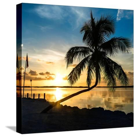 Sunset of Dreams - Florida - USA-Philippe Hugonnard-Stretched Canvas Print
