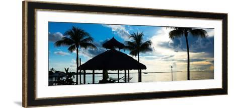 The Beach Hut at Sunset - Florida - USA-Philippe Hugonnard-Framed Art Print