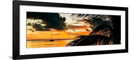 Sunset in Paradise - Florida-Philippe Hugonnard-Framed Art Print