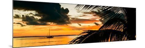 Sunset in Paradise - Florida-Philippe Hugonnard-Mounted Photographic Print