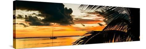 Sunset in Paradise - Florida-Philippe Hugonnard-Stretched Canvas Print