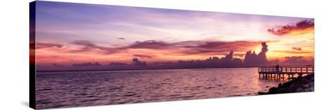 Sunset Sun Dream-Philippe Hugonnard-Stretched Canvas Print