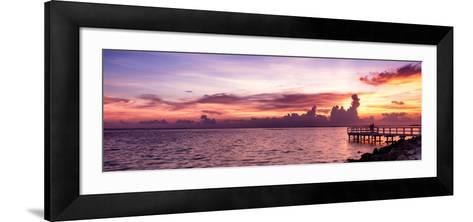 Sunset Sun Dream-Philippe Hugonnard-Framed Art Print