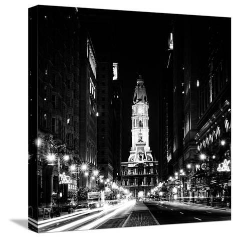 Philadelphia City-Philippe Hugonnard-Stretched Canvas Print