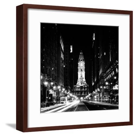 Philadelphia City-Philippe Hugonnard-Framed Art Print