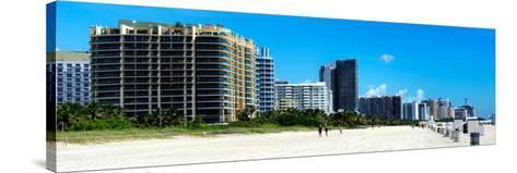 Miami Beach - South Beach - Florida-Philippe Hugonnard-Stretched Canvas Print