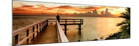 Pier at Sunset-Philippe Hugonnard-Mounted Photographic Print