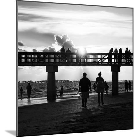 End of Beach Day-Philippe Hugonnard-Mounted Photographic Print