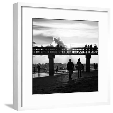 End of Beach Day-Philippe Hugonnard-Framed Art Print