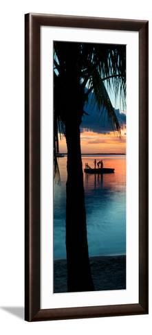 Sunset Landscape with Floating Platform - Florida-Philippe Hugonnard-Framed Art Print