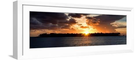 Sunset Key West - Florida-Philippe Hugonnard-Framed Art Print