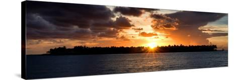 Sunset Key West - Florida-Philippe Hugonnard-Stretched Canvas Print