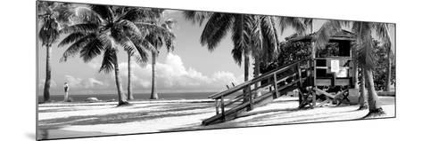 Life Guard Station - Miami Beach - Florida-Philippe Hugonnard-Mounted Photographic Print