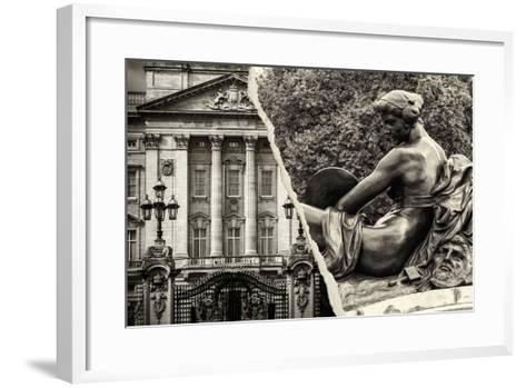 Dual Torn Posters Series - London-Philippe Hugonnard-Framed Art Print