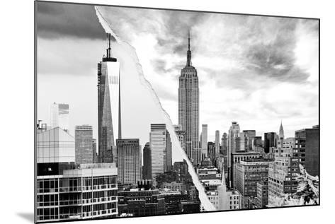 Dual Torn Posters Series - New York City-Philippe Hugonnard-Mounted Photographic Print