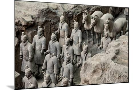 China 10MKm2 Collection - Terracotta Warriors and Horses-Philippe Hugonnard-Mounted Photographic Print