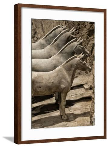 China 10MKm2 Collection - Terracotta Warriors and Horses-Philippe Hugonnard-Framed Art Print